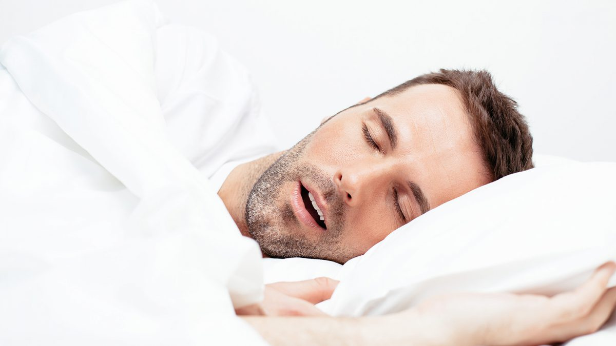 Schnarchen bei obstruktivem Schlafapnoe